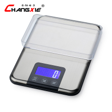 15kg / 1g LCD Display Electronic Scales Multifunction Household Weight Balance Scale Stainless Steel Kitchen Scale Jewelry Scale