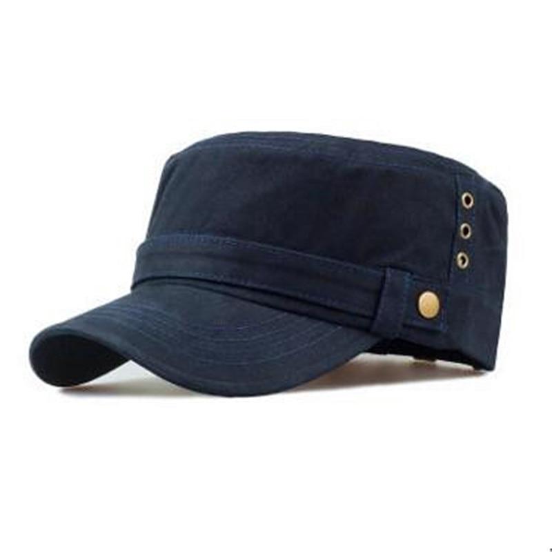 Unisex felnőtt lyuk szellőztetés pamut katonai kalapok szabadtéri - Ruházati kiegészítők