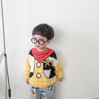 kids sweaters cotton pullover cartoon character pattern cute toddler infant sweater