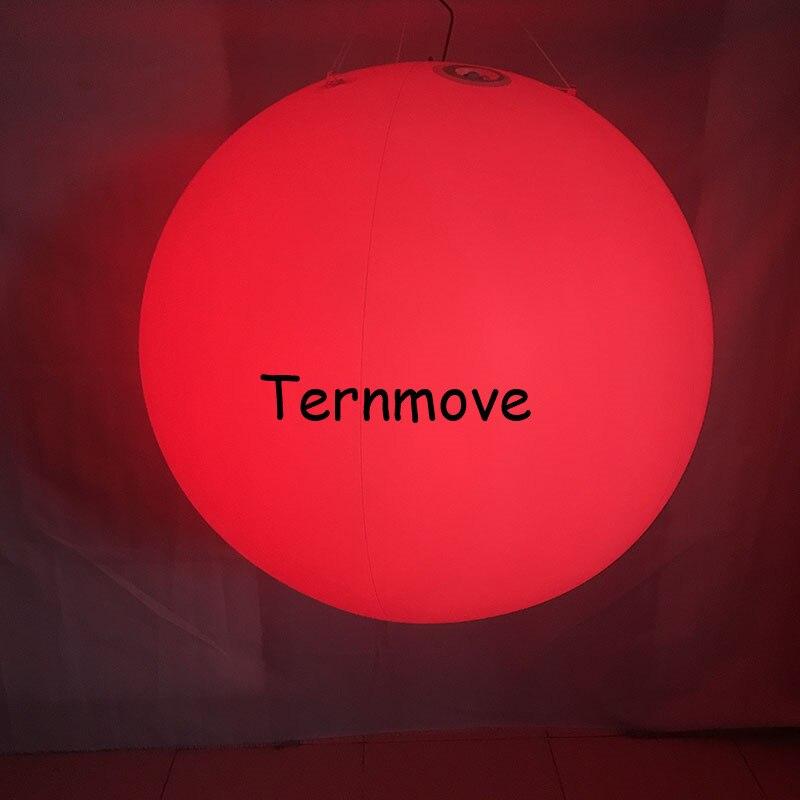 Надувной удар пляжный шар ПВХ надувное со светодиодной подсветкой Воздушный шар пульт дистанционного управления пледы мяч для концертной