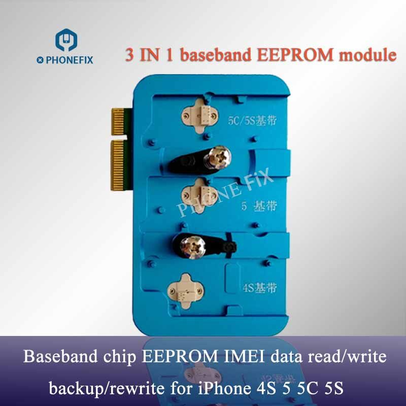 PHONEFIX 100 Original JC Pro1000S Baseband EEPROM IC Read Write Tool For iPhone 4S 5 5C