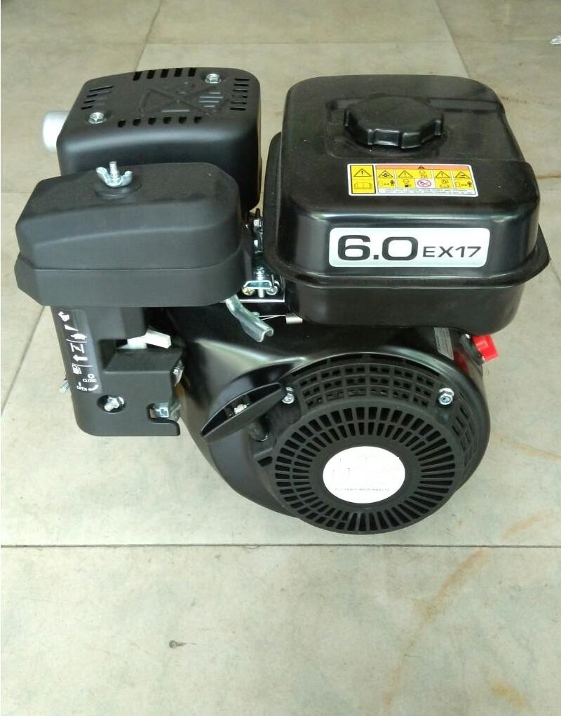 Fast Shipping EX17 6HP Gasoline Engine Recoil Starting 19.05 shaft length:58. 5 OHC single cyliner air cooled fast shipping ex17 6hp gasoline engine recoil starting 19 05 shaft length 58 5 ohc single cyliner air cooled