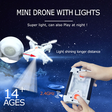 Original Upgraded Mini Drones 2.4G 6CH RC Quadcopter Helicopter RTF With Led Light Remote Control Quadrocopter