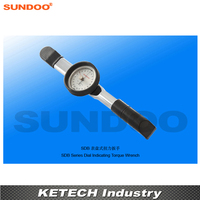 Sundoo SDB-20 2-20N.m Taşınabilir Gösteren Kadran Tork Anahtarı Torsiyon Test Cihazı