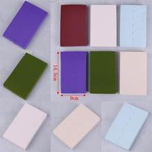 24pcs/set Sponge Cosmetic Puff Foam Powder Smooth Makeup Foundation Pad Make Up Tools 6Colors 14.5*9*2cm(China)