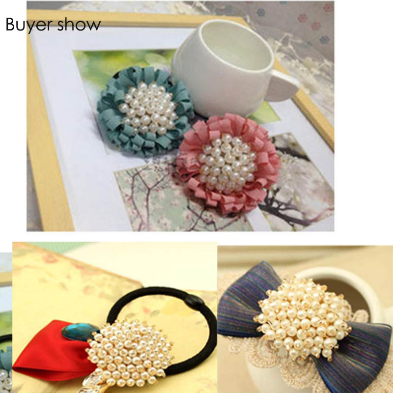 1pc 3D Handmade flower Patches for clothing headwear DIY sew on sequin rhinestone parches appliques for hats bags sewing kits in Patches from Home Garden