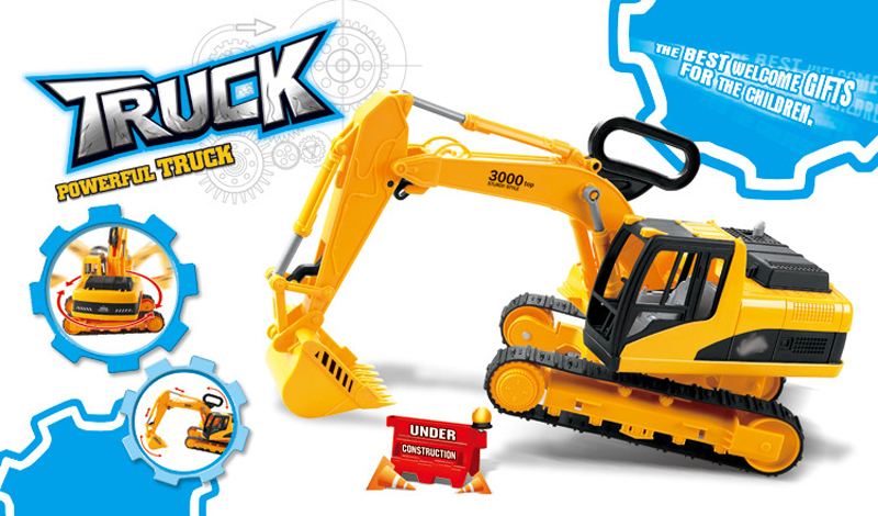 Caminhão Para Crianças Brincam Com o Pacote de Caixa de Areia