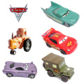 13 Styles Pixar Cars 2 Flo 1:42 Scale Diecast Metal Alloy Modle Cute Toys For Children Gifts Anime Cartoon Kids Dolls