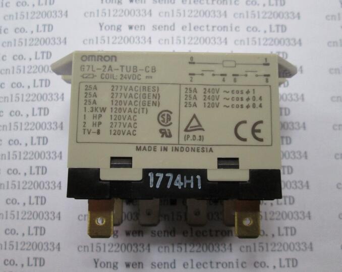 все цены на HOT NEW relay G7L-2A-TUB-CB 24VDC G7L-2A-TUB-CB-24VDC G7L-2A-TUB G7L-2AA G7L DC24V OMRON DIP6