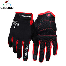 Winter Full Finger Cycling Gloves Touch Screen GEL Bicycle Gloves Sport MTB Road Full Finger  Bike Glove For Men Woman inbike cycling gloves touch screen bike sport hiking shockproof gloves for men women mtb road bicycle full finger phone glove