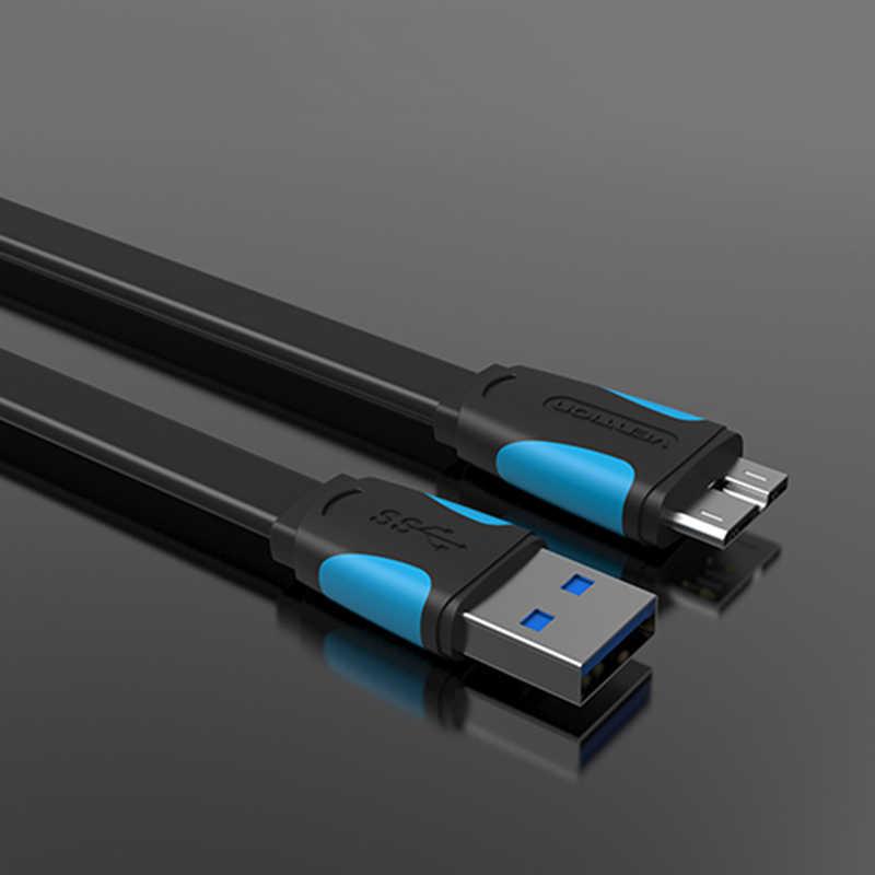 0.5 メートル/1 メートル/1.5 メートル/2 メートルの USB 3.0 タイプマイクロ B 延長ケーブル外部ハードドライブのディスク、 Hdd サムスン Note3 USB HDD データケーブル