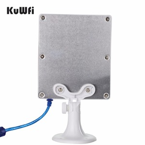 Image 4 - KuWfi 150Mbps Wifi Receiver Soft AP High Gain 14dBi  Antenna 5m Cable USB Adapter High Power Outdoor Waterproof Long Range