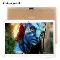 Original Interpad 10 1 Inch Tablet Quad Core Android 6 0 MTK6580 3G Phone Call IPS