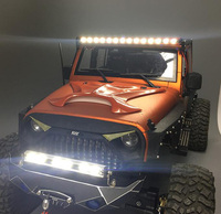 1PC 7 2 12V LED Light Strip Night Light Bar Lamp AL Metal 160mm Black Red