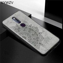 Para OPPO F11 Pro Caso À Prova de Choque Capa de Silicone Macio de Luxo Textura De Pano Caixa Do Telefone Para OPPO F11 Pro Capa Para OPPO F11 Pro