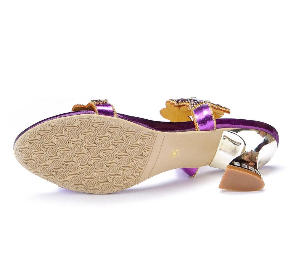 Noche Partido Del Moda Mujeres 44 33 Y Sandalias Boda Vestido Rhinestone De Sexy Zapatos Alta Sandalias Grande Tamaño Calidad vPApq