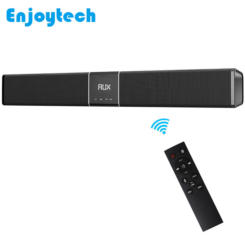 Mini wireless Bluetooth Speaker Sound Bar 10W*2 for TV Laptop Projector Home Theater Loudspeaker for Iphone Xiaomi Samsung Phone