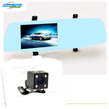 Newest Car Camera Novatek96655 Blue Review Mirror Digital Video Recorder Auto Registrator Camcorder Full HD 1080P Camera Car DVR