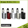 100% Original WISMEC Reuleaux RXmini Kit 80W Box MOD 2100mAh Bult-in Battery RX mini TC Mod with 2ml Atomizer Tank