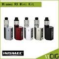 100% original wismec reuleaux rxmini kit 80 w caja mod 2100 mah bult-en la batería rx mini tc mod con 2 ml atomizador tanque