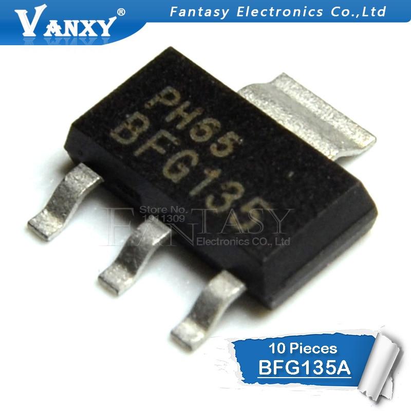 10PCS BFG135A SOT223 BFG135 SOT-223 SMD