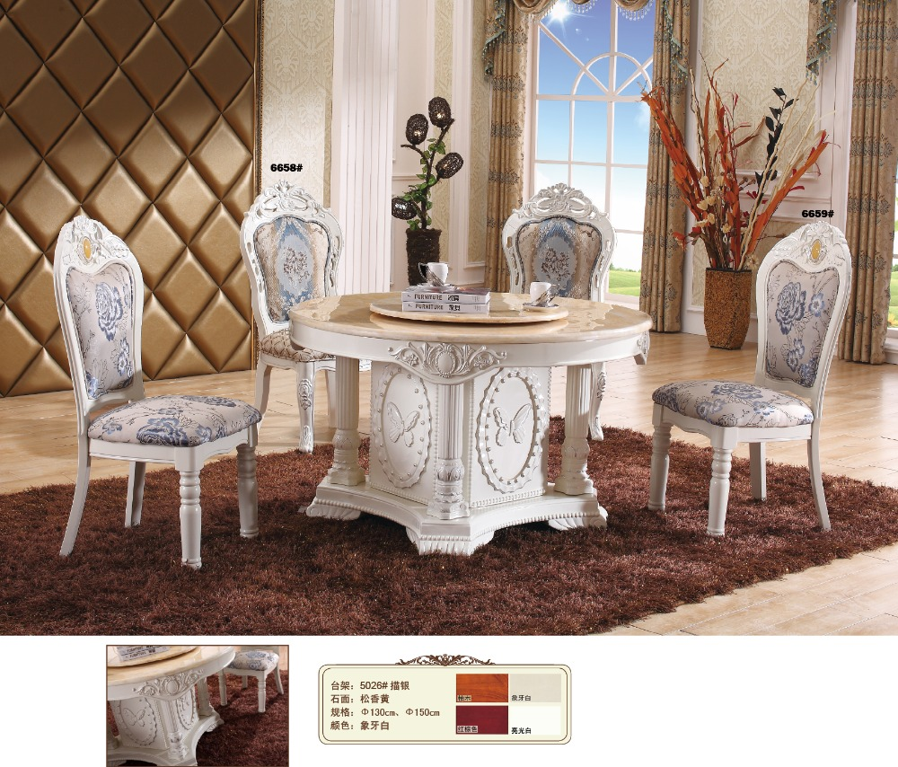 online get cheap french dining room table aliexpress com 2017 eettafel wooden furniture clothing store cam sehpalar mesas antique no new arrived marble top dinning table