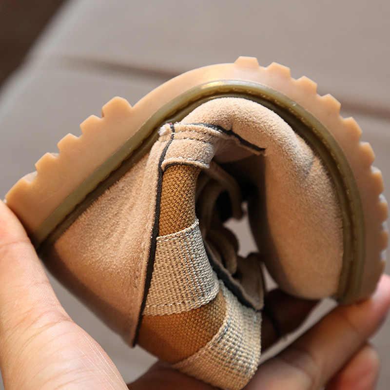 KINE PANDA Дети военные сапоги малыш обувь для мальчика Детский сад Мальчики маленькие девочки сапоги армейский зеленый осень 1 2 3 4 года