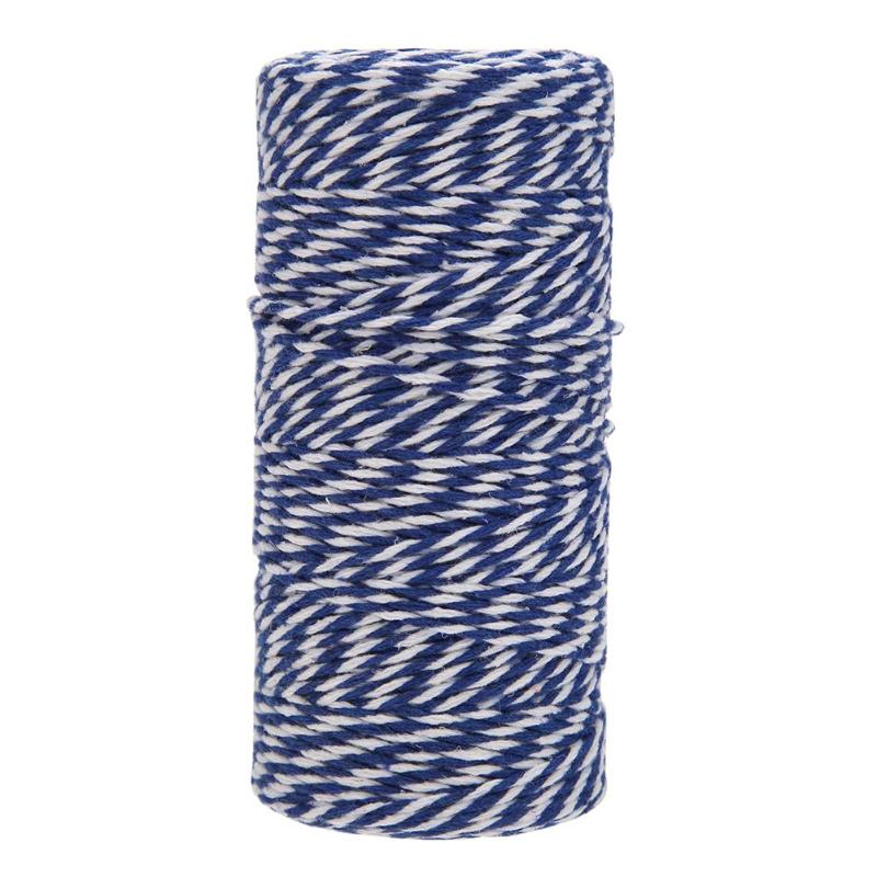 Yzsfirm 2 Roll 2mm Cotton Twine Rope,656 Feet Wine Red Bakers Twine String for DIY Crafts and Gift Wrapping