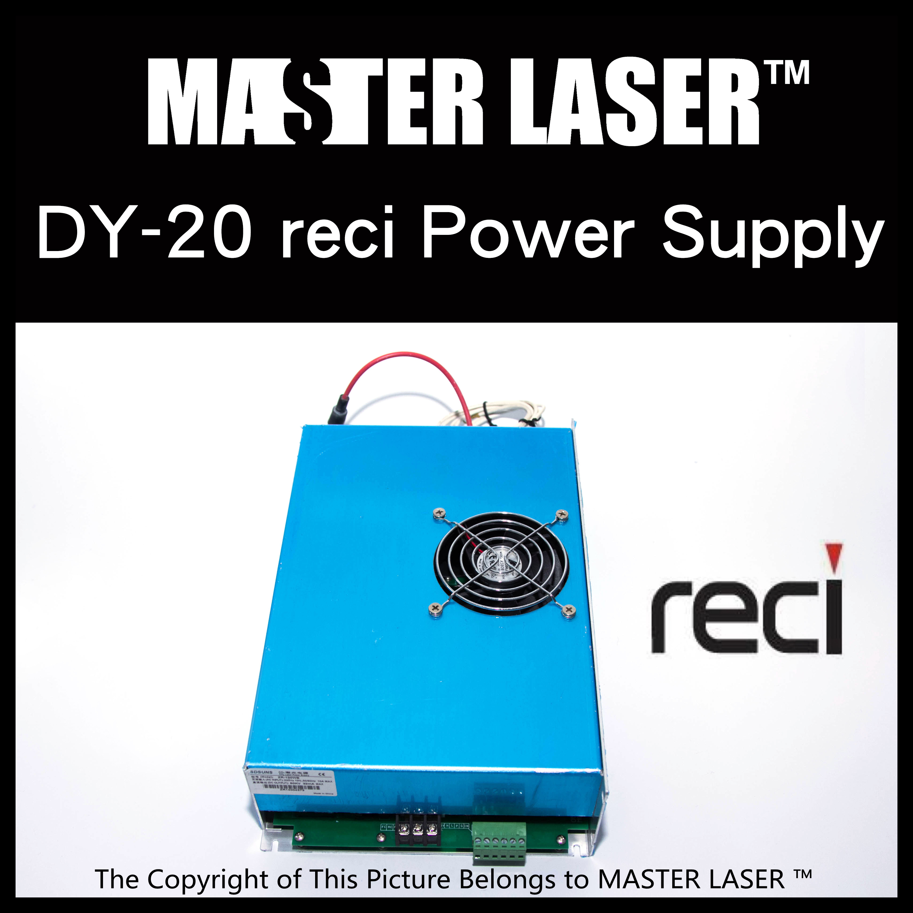Reci DY20 Laser Power Supply for Reci Laser Tubes reci dy10 laser power supply for laser tubes 80w reci