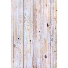 Тонкий ткани ткани Печатные фотографии фоном деревянный пол фон 5X7ft Этаж для Студии Floor-453