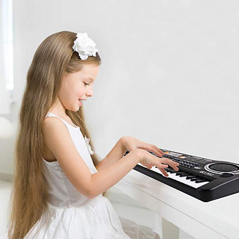 61 touches Numérique Musique Électronique Clavier Vocal Jouets Piano Électrique Professionnel Instruments de Musique Jouets Éducatifs
