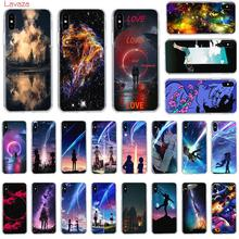 Lavaza starry day anime Hard Phone Case for Apple iPhone 6 6s 7 8 Plus X 5 5S SE for iPhone XS Max XR Cover lavaza call me by your name hard phone case for apple iphone 6 6s 7 8 plus x 5 5s se for iphone xs max xr cover