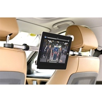 Universal Banquette Arrière de Voiture 7-11 Pouce Titulaire Mobile Téléphone Tablet montage Stand Stents Support En Aluminium Pour iPad Pour Samsung Pour Kindle
