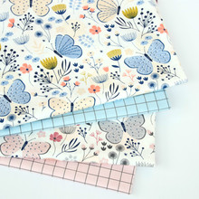 100 cotton Twill fabric for sewing upholstery cotton patchwork quilting dress making cloth