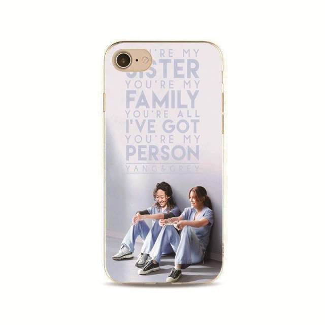 Online Shop American TV Greys Anatomy phone case for iPhone 7 plus 4 ...