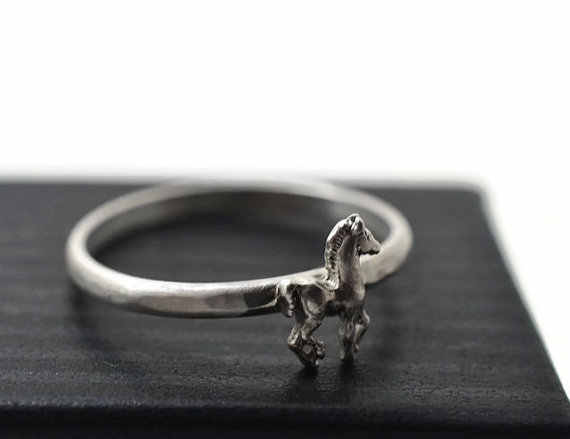 Wholesale Fashion Vintage Horse Rings High Quality Brand Designer Sculpted Resting Black Men Equine Rings Women Horse Ring Fashion Rings Womenrings Brand Women Aliexpress