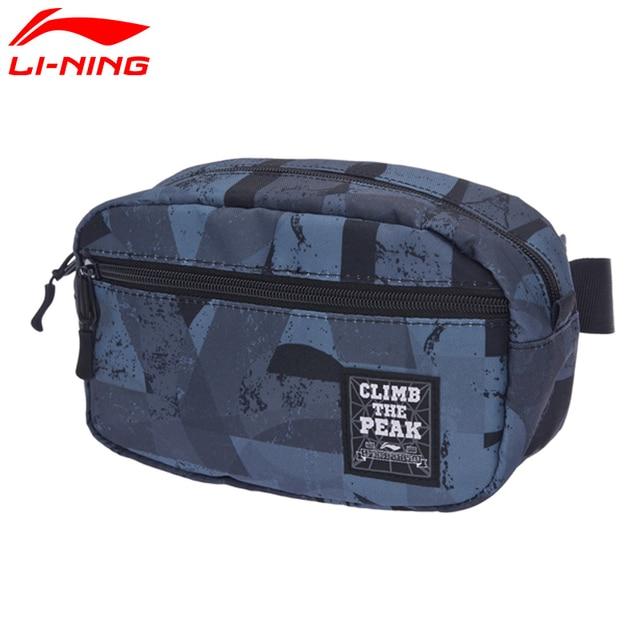 Li-Ning Unisex Urban Sport Waistpack Polyester Classic City Jogging Bag LiNing Sports Bag ABLM018 BJY038