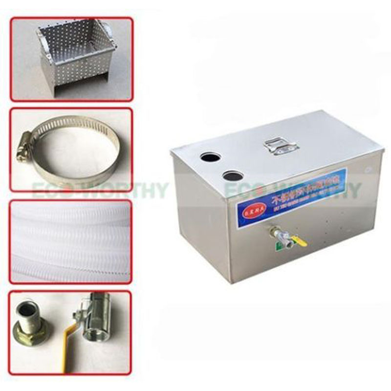 Industrial Kitchen Grease Trap: New Stainless Steel Grease Trap Interceptor For Restaurant
