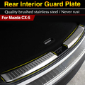 For Mazda CX-5 CX5 2012 2013 2014 2015 Stainless Steel Inner Rear Bumper Protector Sill Trunk Trim accessories CAR styling