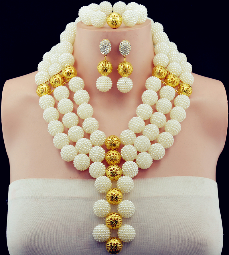 Charming White Gold-color Nigerian Wedding Beads Jewelry Sets African Beads Jewelry Neckalce Set Free ShippingCharming White Gold-color Nigerian Wedding Beads Jewelry Sets African Beads Jewelry Neckalce Set Free Shipping