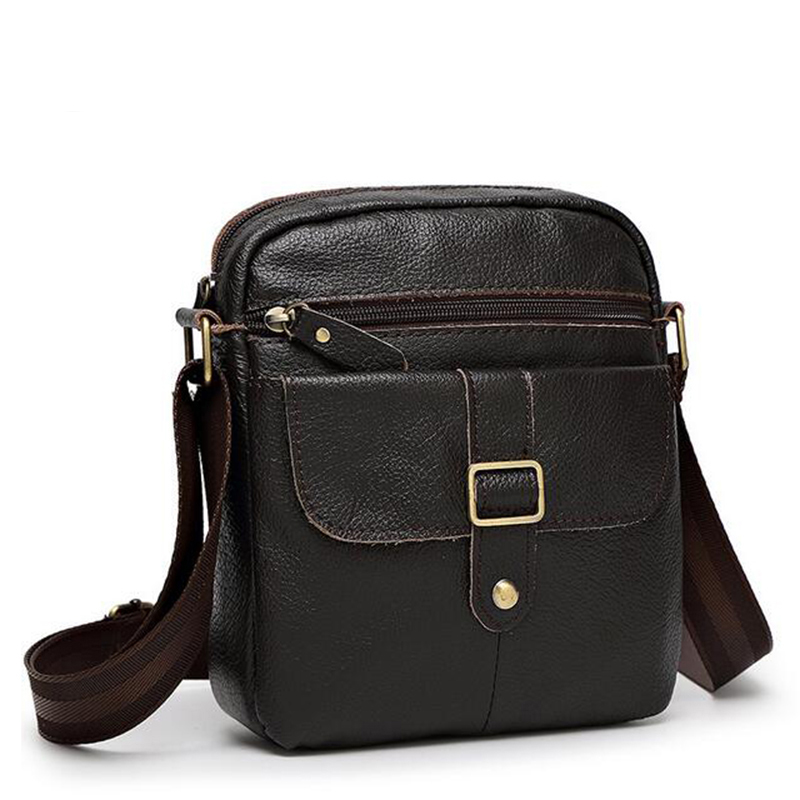 ФОТО Senkey style 2017 Hot sale New fashion genuine leather men bags small shoulder bag men messenger bag crossbody leisure bag