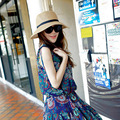 Hot New Fashion Summer Casual Women Ladies Wide Brim Beach Sun Hat Elegant Straw Floppy Bohemia Cap For Women Dating Cheap