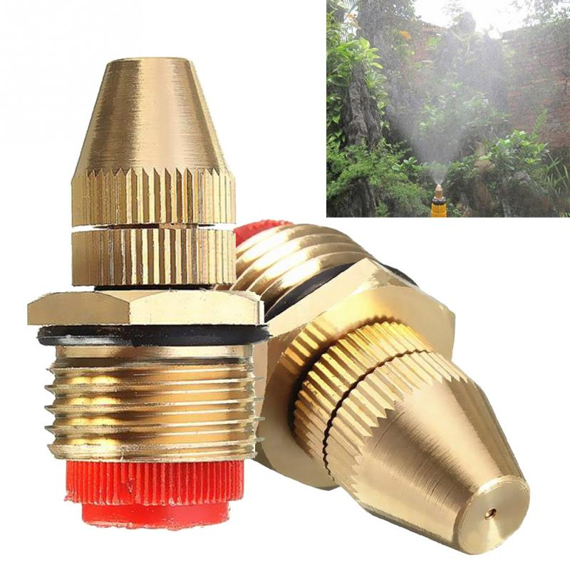 Water-Mist-Fine Spray-Nozzle Cooling Lawn Adjustable High-Atomization Full-Copper 1/2inch