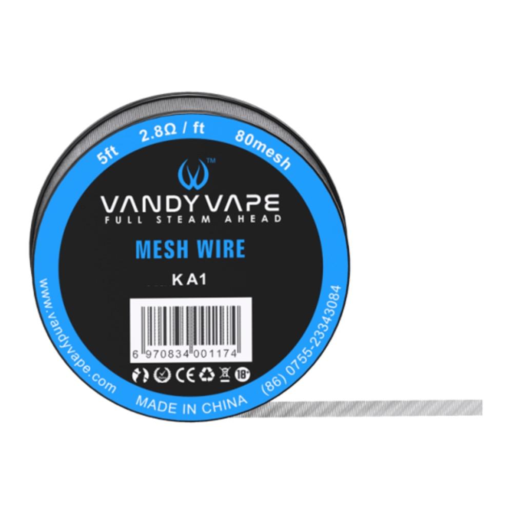 Original Vandy Vape Maschendraht KA1/Ni80/SS316L mesh rda draht 2 ...