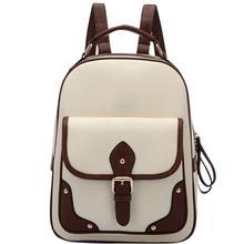 Banabanma Для женщин рюкзак девушка ретро PU рюкзак модные Универсальные ранец большой Ёмкость Повседневное дорожные сумки для Для женщин 2018 ZK30