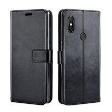 Funda de cuero abatible de lujo para Meizu Note 9 funda de teléfono trasera para en Meizu Note 9 Note9 cubierta