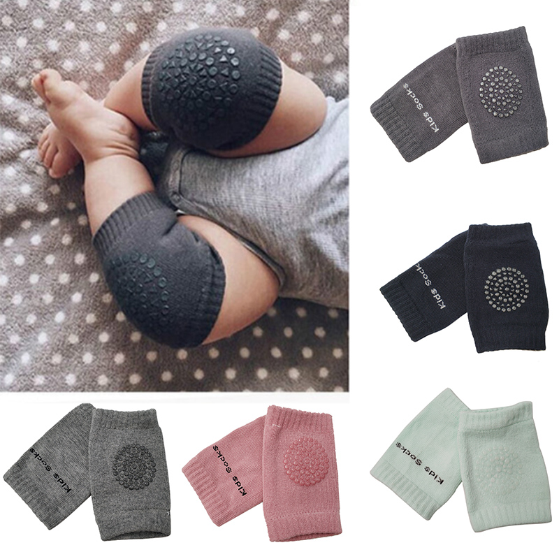 1 Pair Baby Knee Pads Crawling  Safety Elbow Infant Cushion Black Baby Leg Warmer For Kids Knee Support Protector Baby Kneecap1 Pair Baby Knee Pads Crawling  Safety Elbow Infant Cushion Black Baby Leg Warmer For Kids Knee Support Protector Baby Kneecap