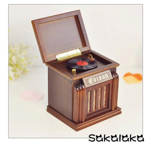 Máquina de registro de madera de alto grado retro creativo diseño ...