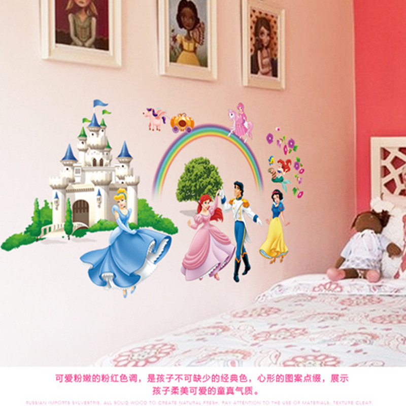 Aliexpress Buy Cartoon Princess Cinderella Wall Stickers – Cinderella Bedroom Decor
