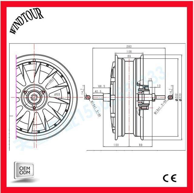 3000w 48/60/72V/84/96/108/120V motor with 80A controller set -in ...